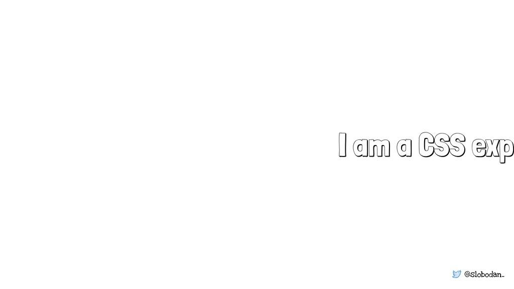 @slobodan_ I am a CSS expe