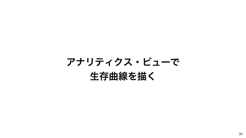 39 ΞφϦςΟΫεɾϏϡʔͰ ੜଘۂઢΛඳ͘