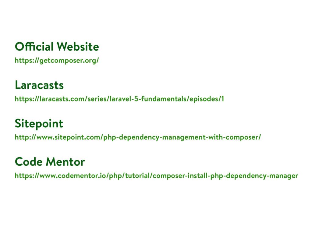 Official Website https://getcomposer.org/ Larac...