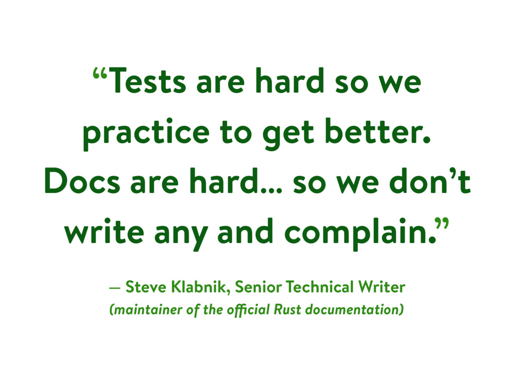 """""""Tests are hard so we practice to get better. D..."""