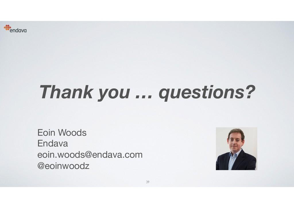 39 Eoin Woods Endava eoin.woods@endava.com  @...