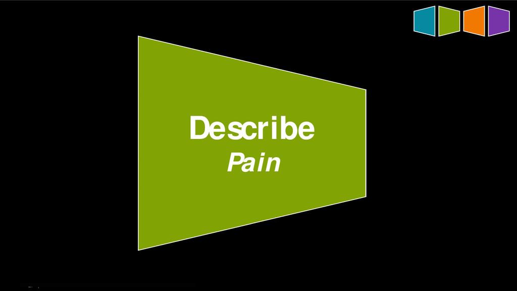 27   Describe Pain
