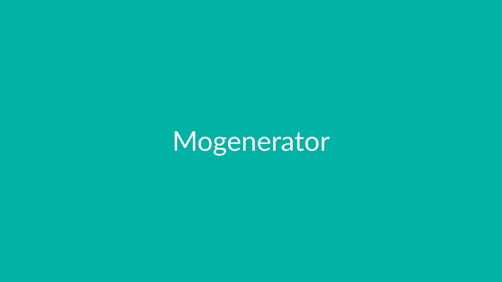 Mogenerator