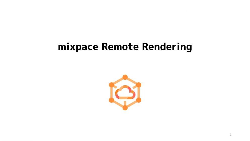 mixpace Remote Rendering 紹介動画 Copyright© HoloLa...