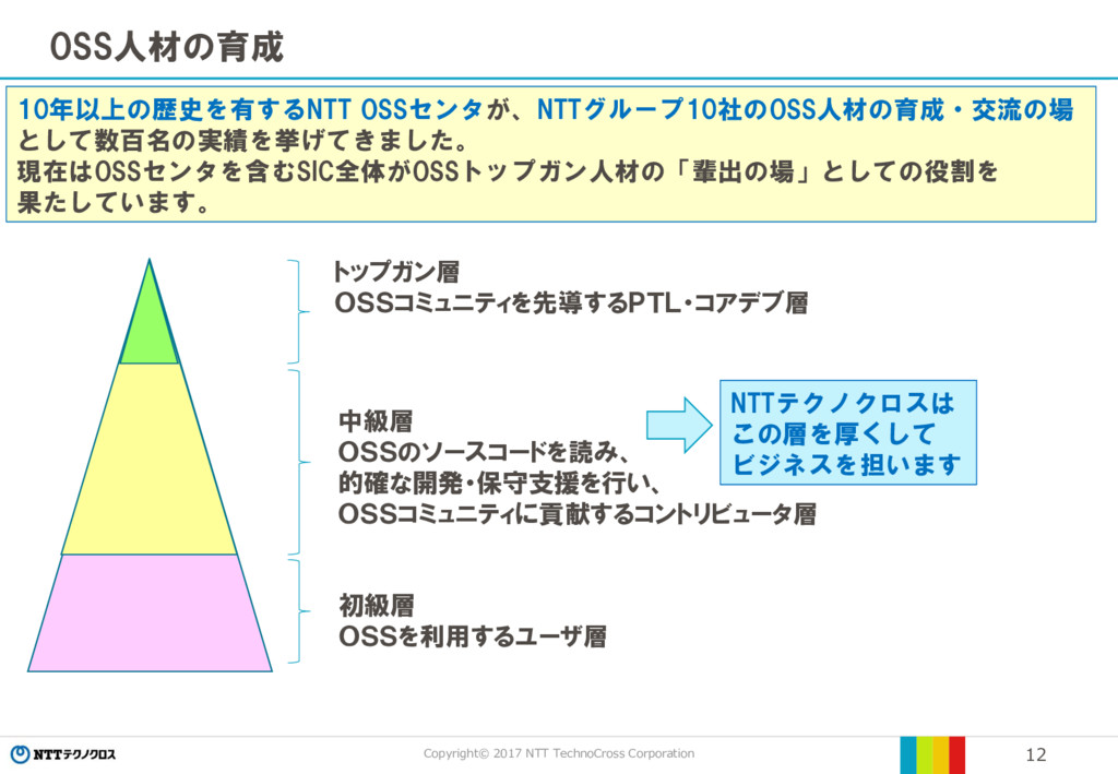 Copyright© 2017 NTT TechnoCross Corporation 12 ...