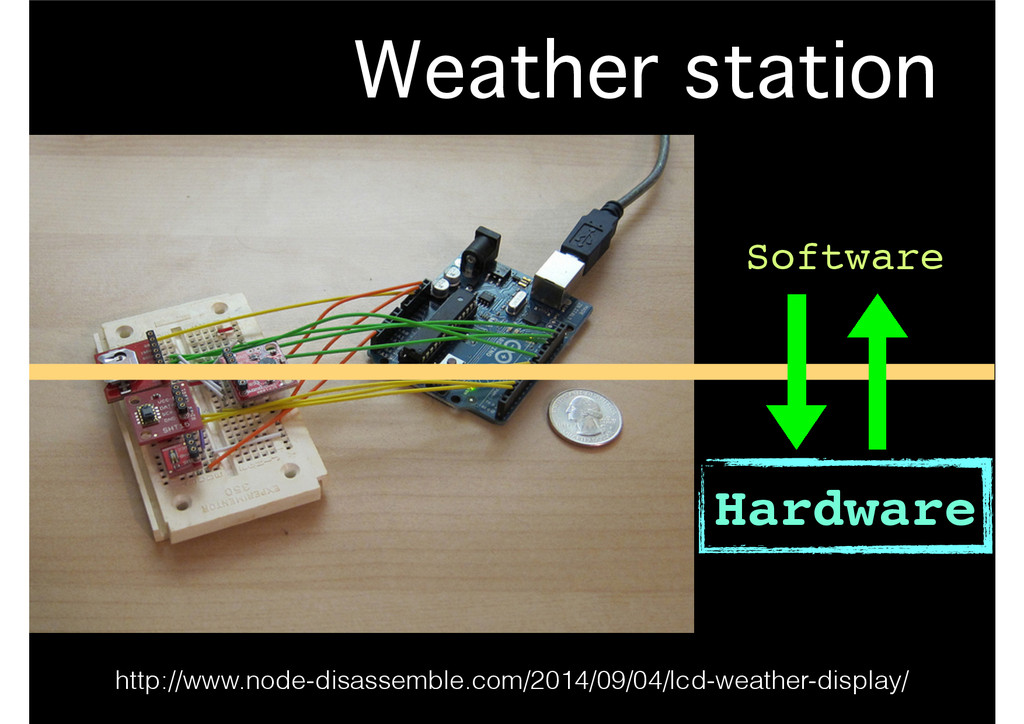 Weather station http://www.node-disassemble.com...