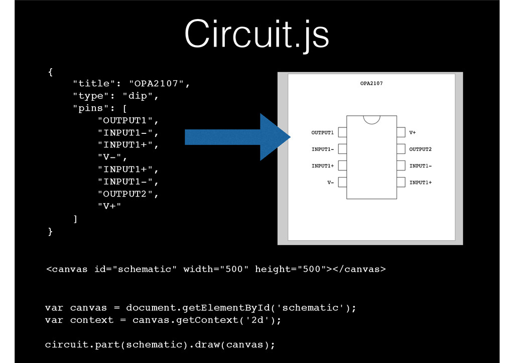 "Circuit.js <canvas id=""schematic"" width=""500"" h..."