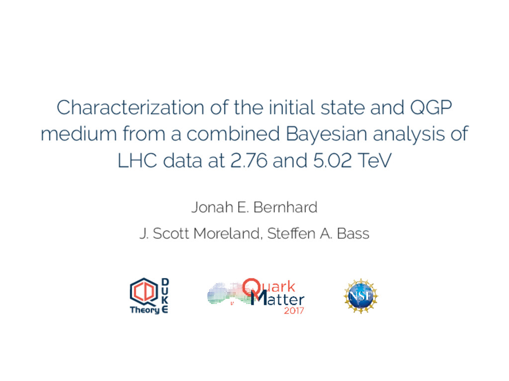 Characterization of the initial state and QGP m...