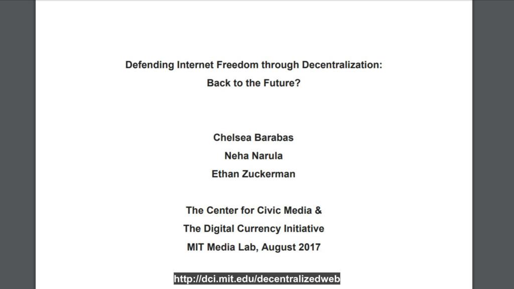 http://dci.mit.edu/decentralizedweb