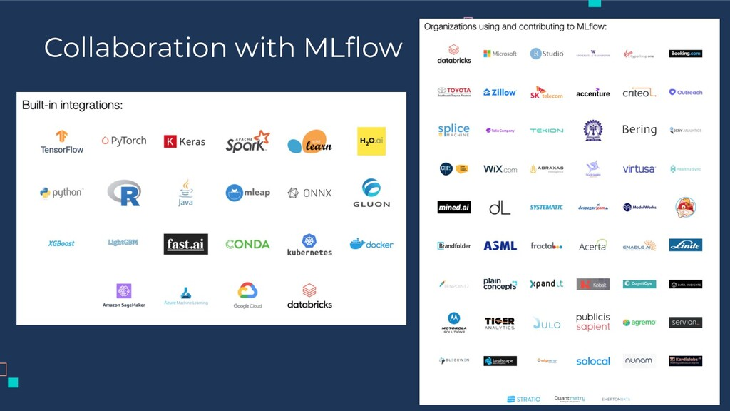 Collaboration with MLflow 20