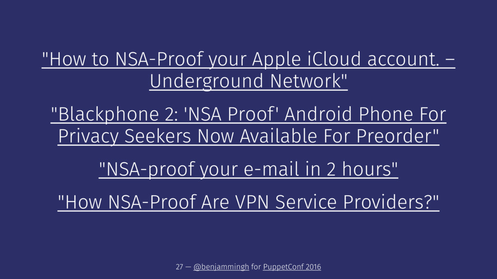 """How to NSA-Proof your Apple iCloud account. – ..."