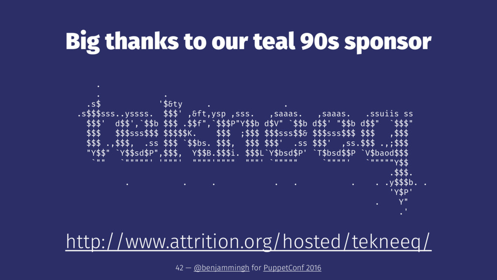 Big thanks to our teal 90s sponsor . . . .s$ '$...