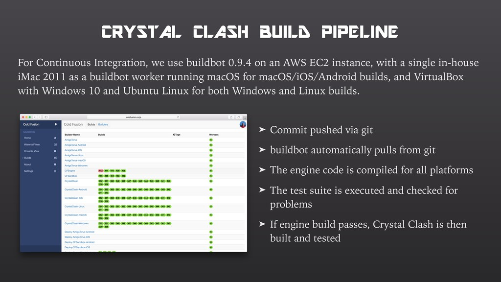 CRYSTAL CLASH BUILD PIPELINE For Continuous Int...
