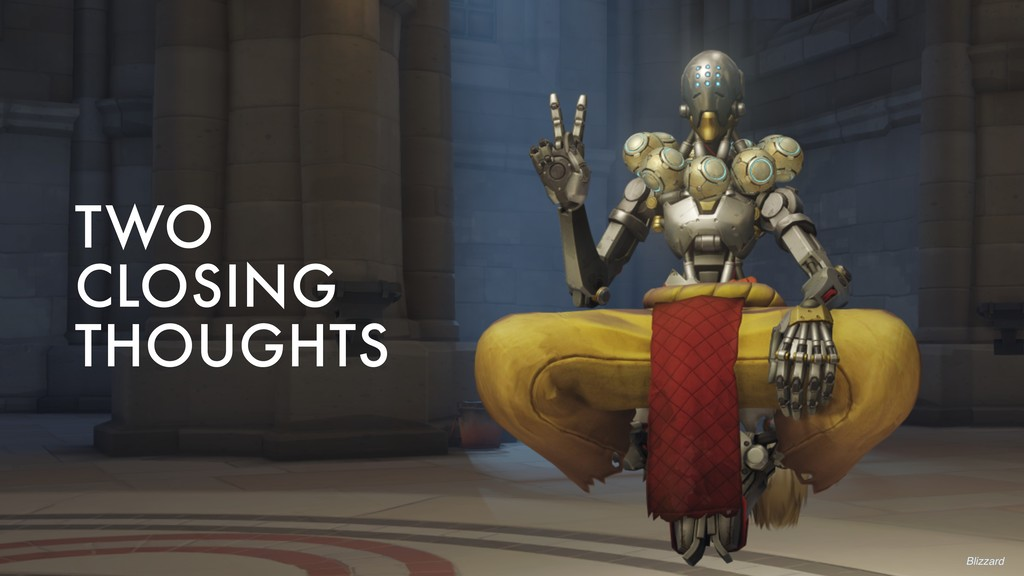 TWO CLOSING THOUGHTS Blizzard