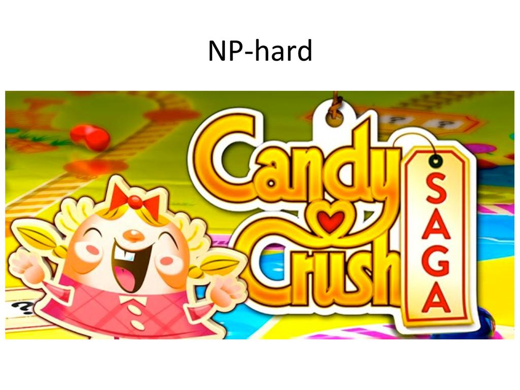 NP-‐hard