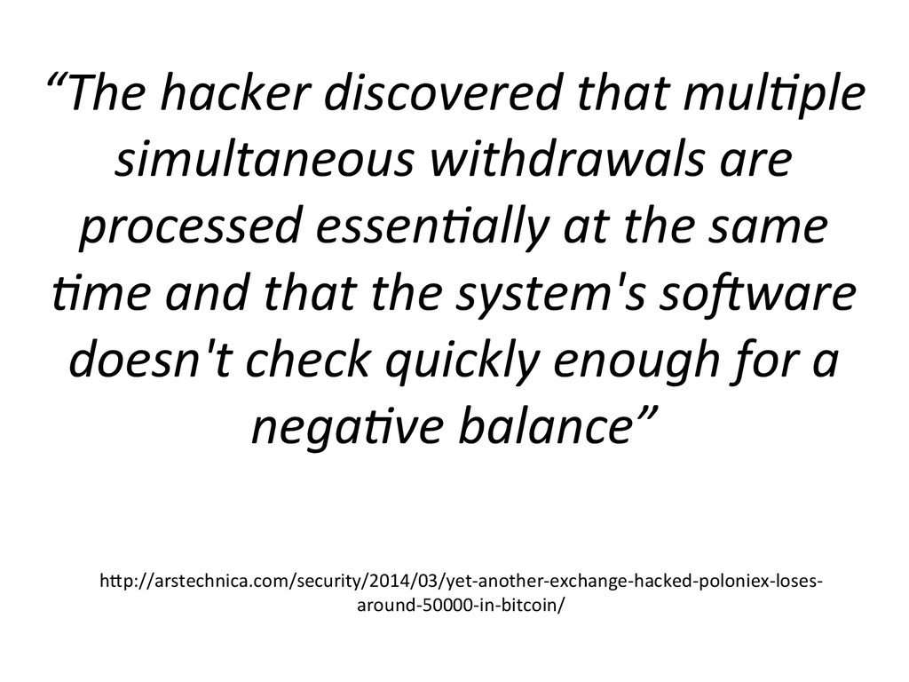 """""""The hacker discovered that mul3ple..."""