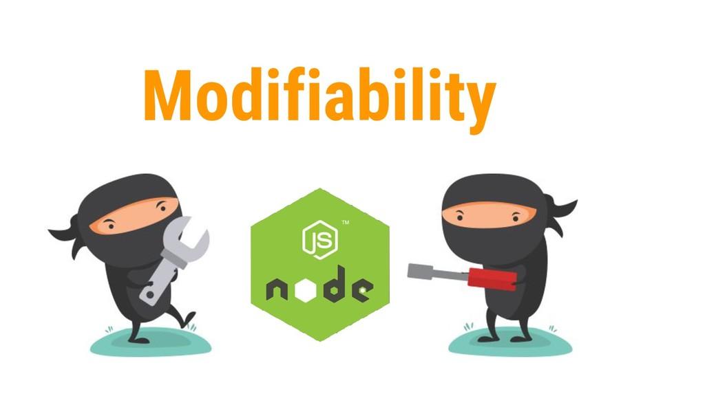 18 Modifiability