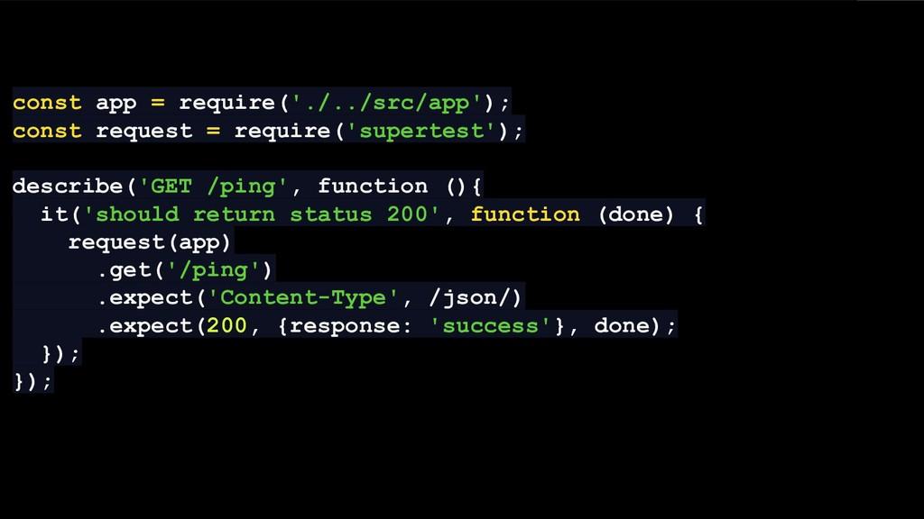 const app = require('./../src/app'); const requ...
