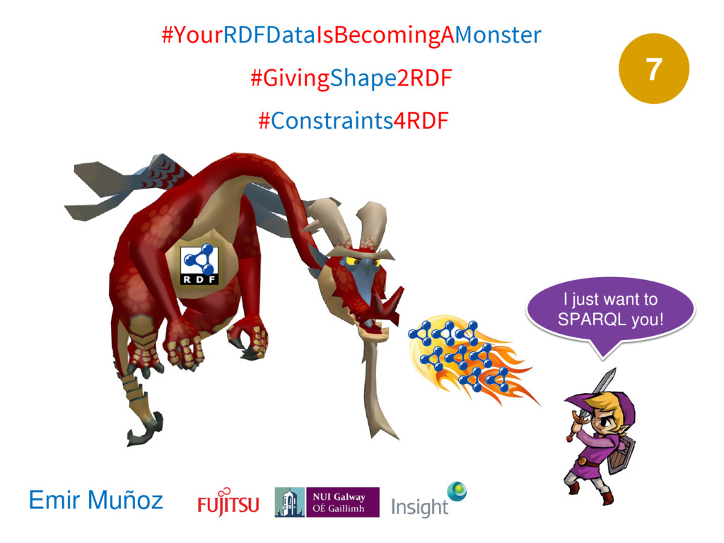7 #YourRDFDataIsBecomingAMonster #GivingShape2R...
