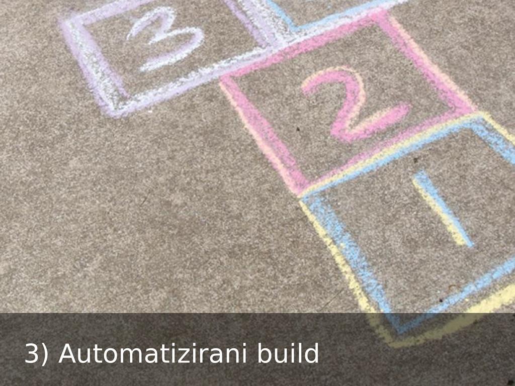 3) Automatizirani build