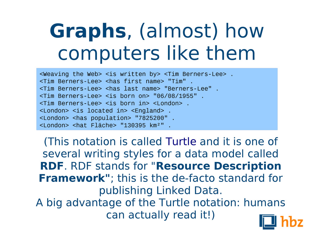 Graphs, (almost) how computers like them (This ...