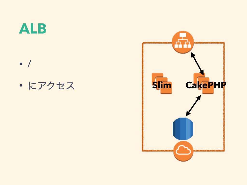 ALB • / • ʹΞΫηε ALB CakePHP Slim