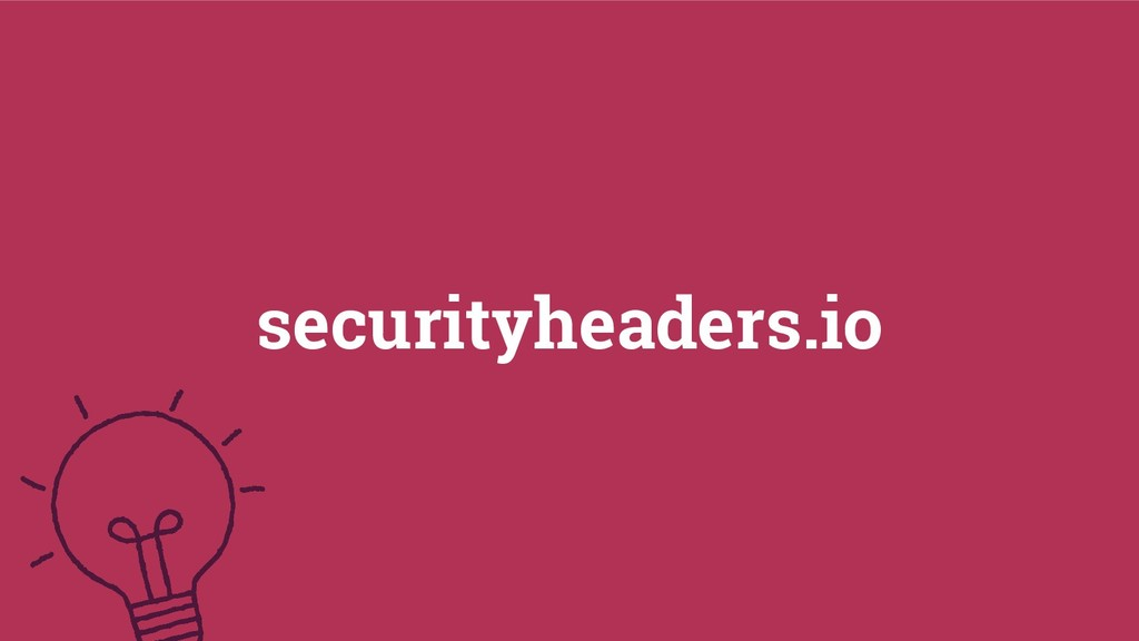57 securityheaders.io