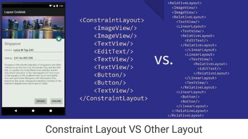 Constraint Layout VS Other Layout