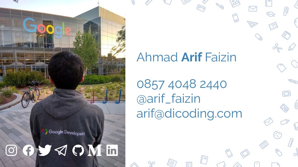 97 Ahmad Arif Faizin 0857 4048 2440 @arif_faizi...