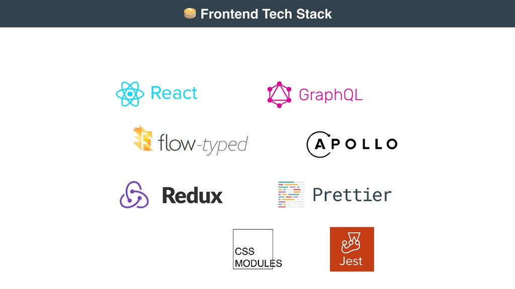 # Frontend Tech Stack