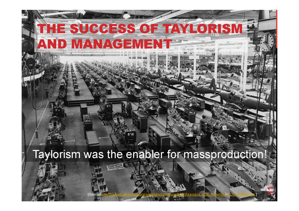 @devpg THE SUCCESS OF TAYLORISM AND MANAGEMENT ...