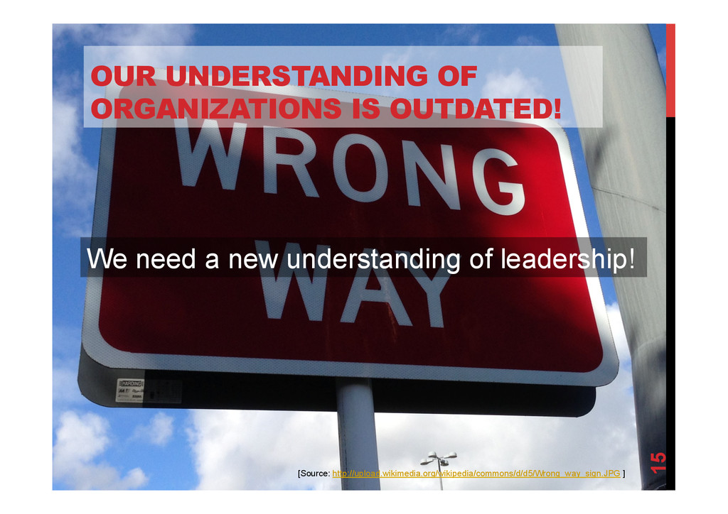 @devpg OUR UNDERSTANDING OF ORGANIZATIONS IS OU...