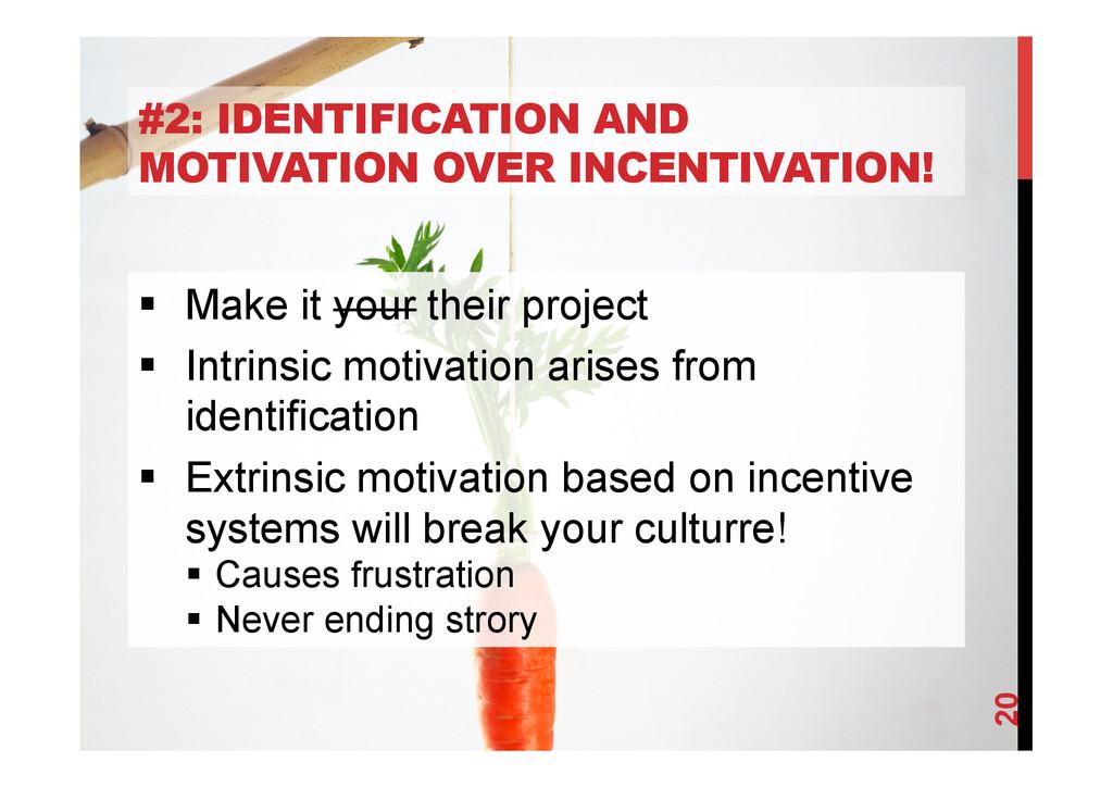 @devpg #2: IDENTIFICATION AND MOTIVATION OVER I...