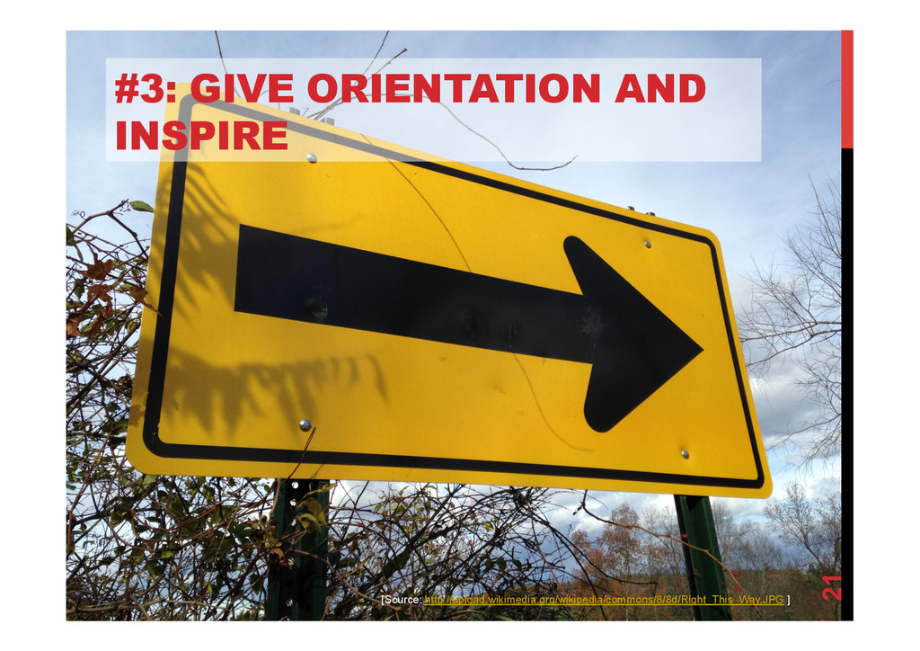 @devpg #3: GIVE ORIENTATION AND INSPIRE 21 [Sou...