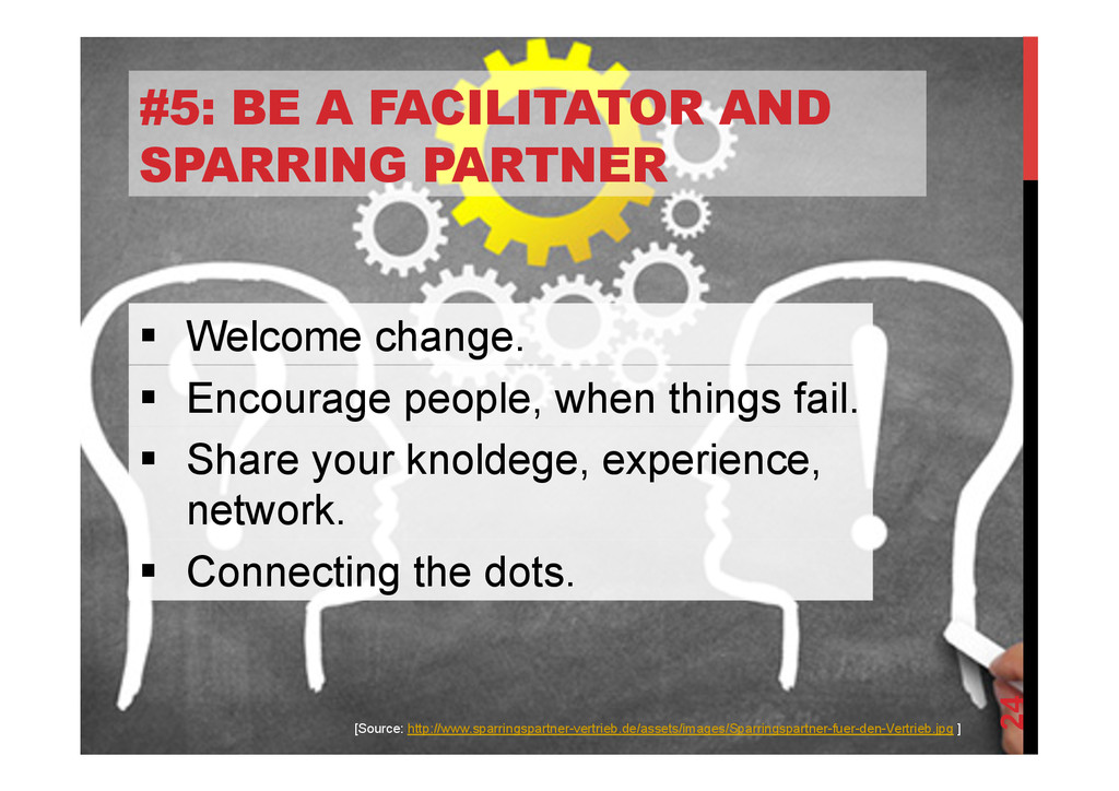 @devpg #5: BE A FACILITATOR AND SPARRING PARTNE...