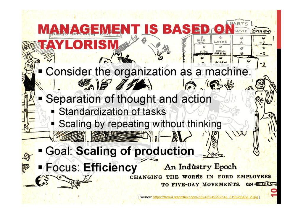 @devpg MANAGEMENT IS BASED ON TAYLORISM 10 [Sou...
