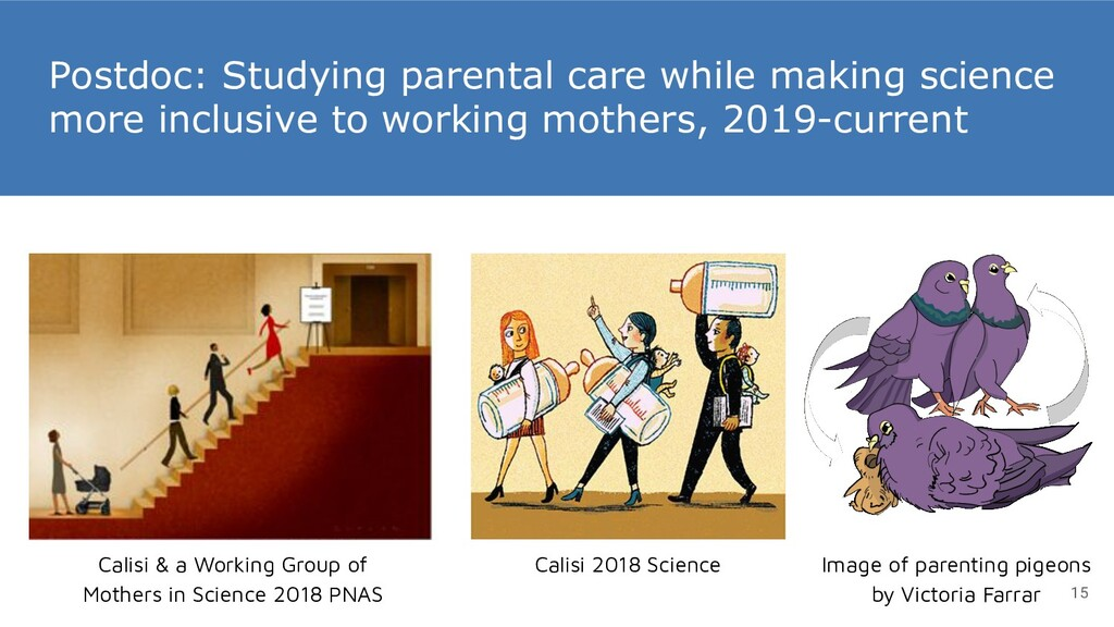 Postdoc: Studying parental care while making sc...