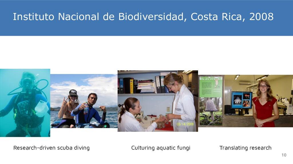 Instituto Nacional de Biodiversidad, Costa Rica...