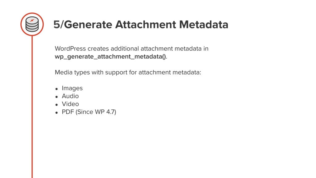 5/Generate Attachment Metadata WordPress create...