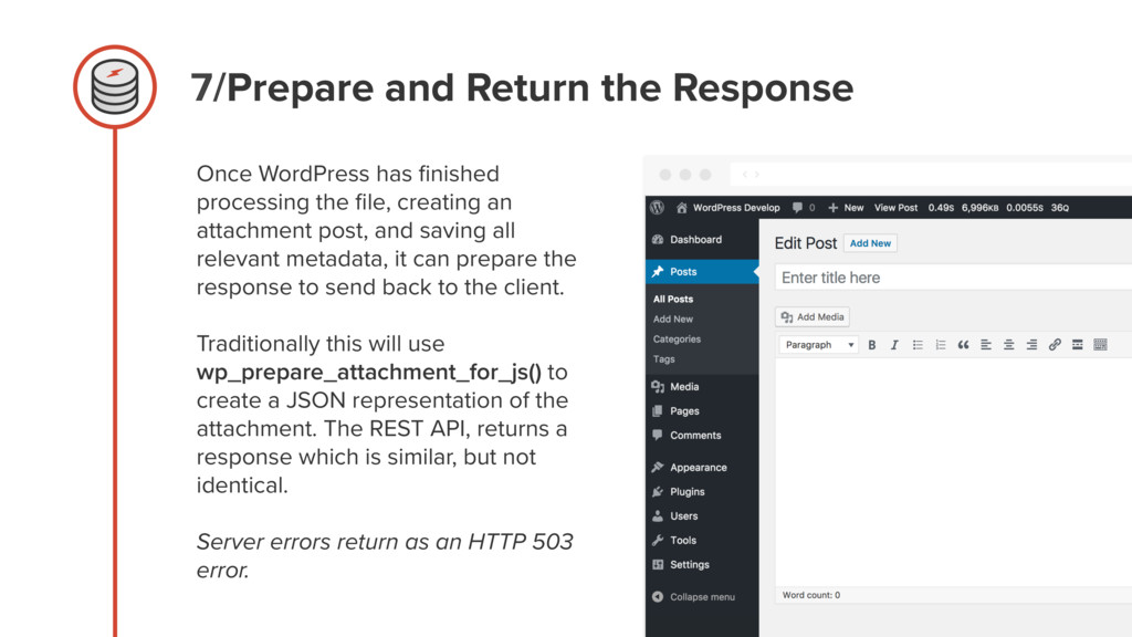 7/Prepare and Return the Response Once WordPres...