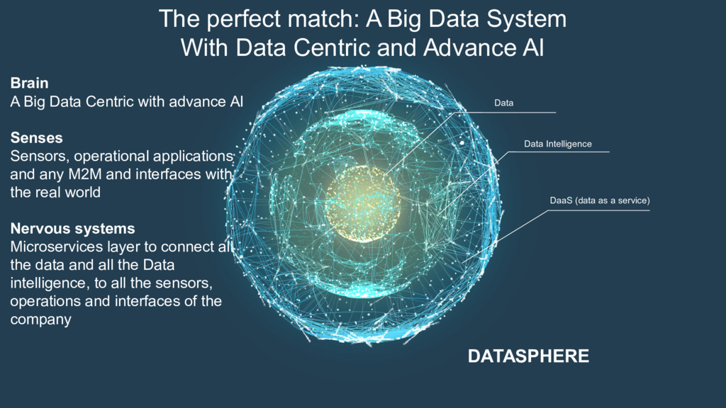 DaaS (data as a service) Data DATASPHERE The pe...