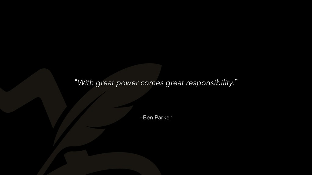 r#FO1BSLFS lWith great power comes great respo...