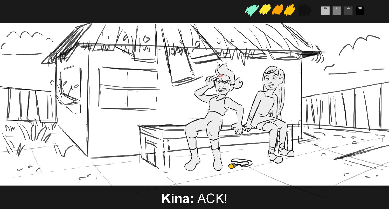 K i n a : A C K !