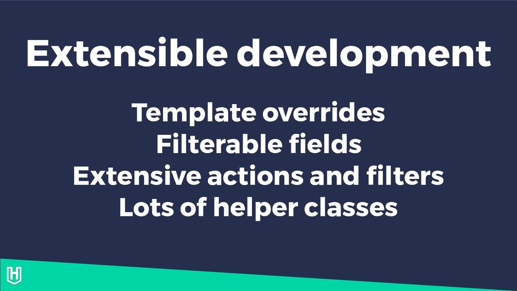 Extensible development Template overrides Filte...
