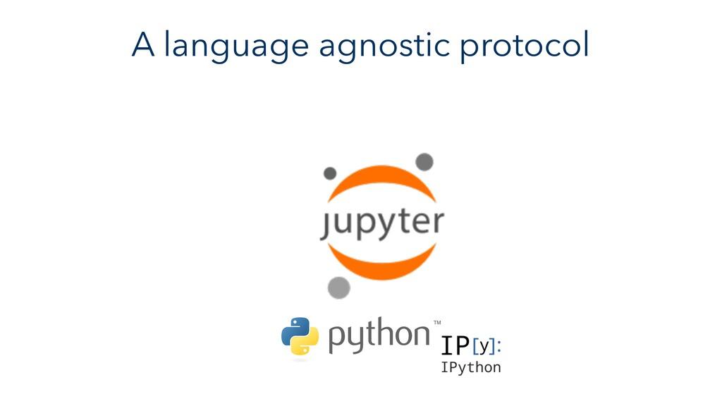 A language agnostic protocol