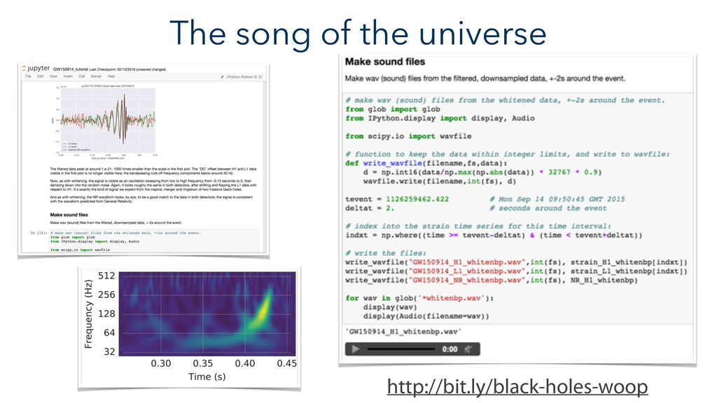 The song of the universe http://bit.ly/black-ho...