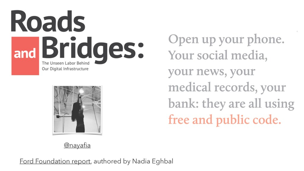 Ford Foundation report, authored by Nadia Eghba...