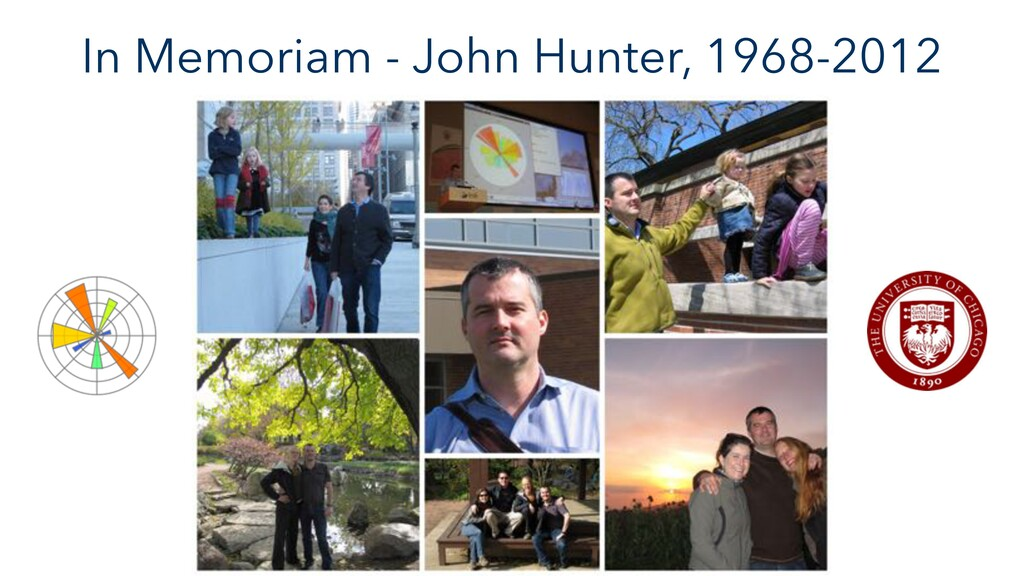 In Memoriam - John Hunter, 1968-2012