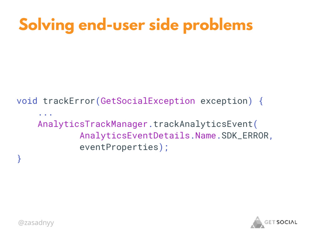 @zasadnyy Solving end-user side problems void t...