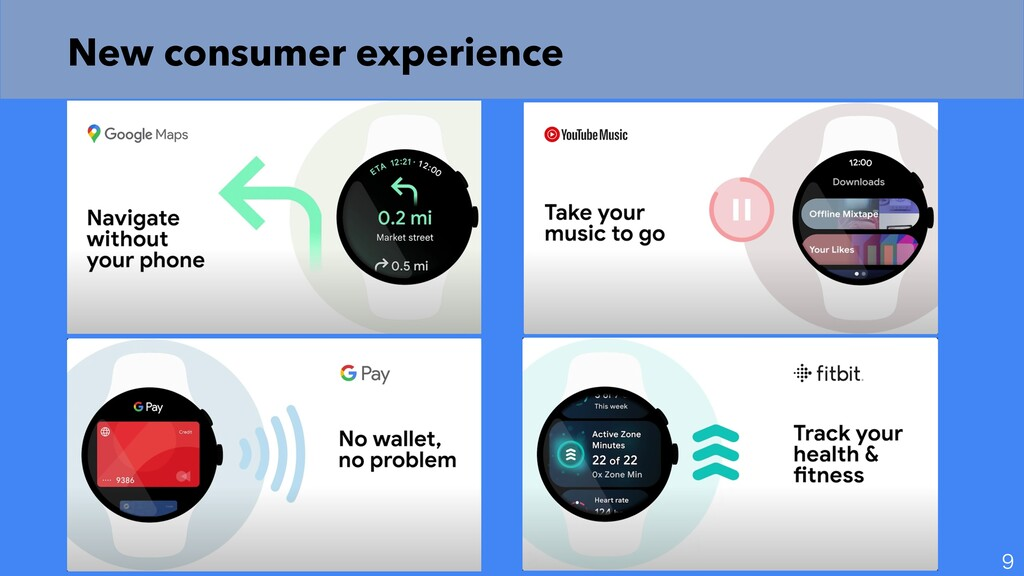 New consumer experience